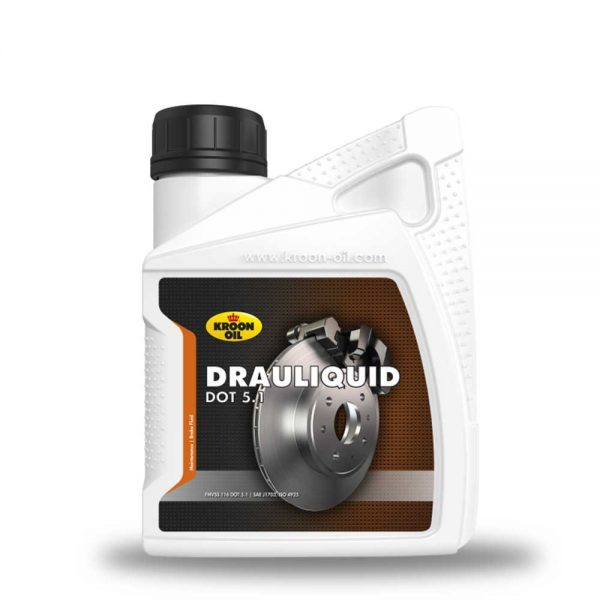 Brake fluid and Cleaners - 12x500 ml bottle Kroon-Oil Drauliquid DOT 5.1