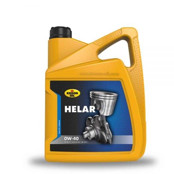 Engine Oil Mauritius - 4x5 L can Kroon-Oil Helar 0W-40