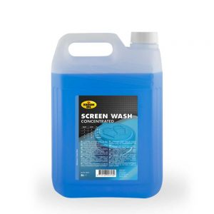 4x5 L can Kroon-Oil Screen Wash Concentrated Cleaning and Washing Products Mauritius