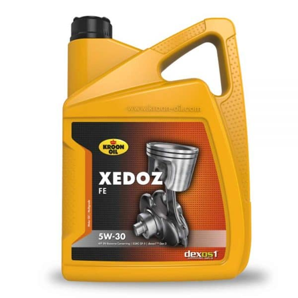 Engine Oil Mauritius - 4x5 L can Kroon-Oil Xedoz FE 5W-30